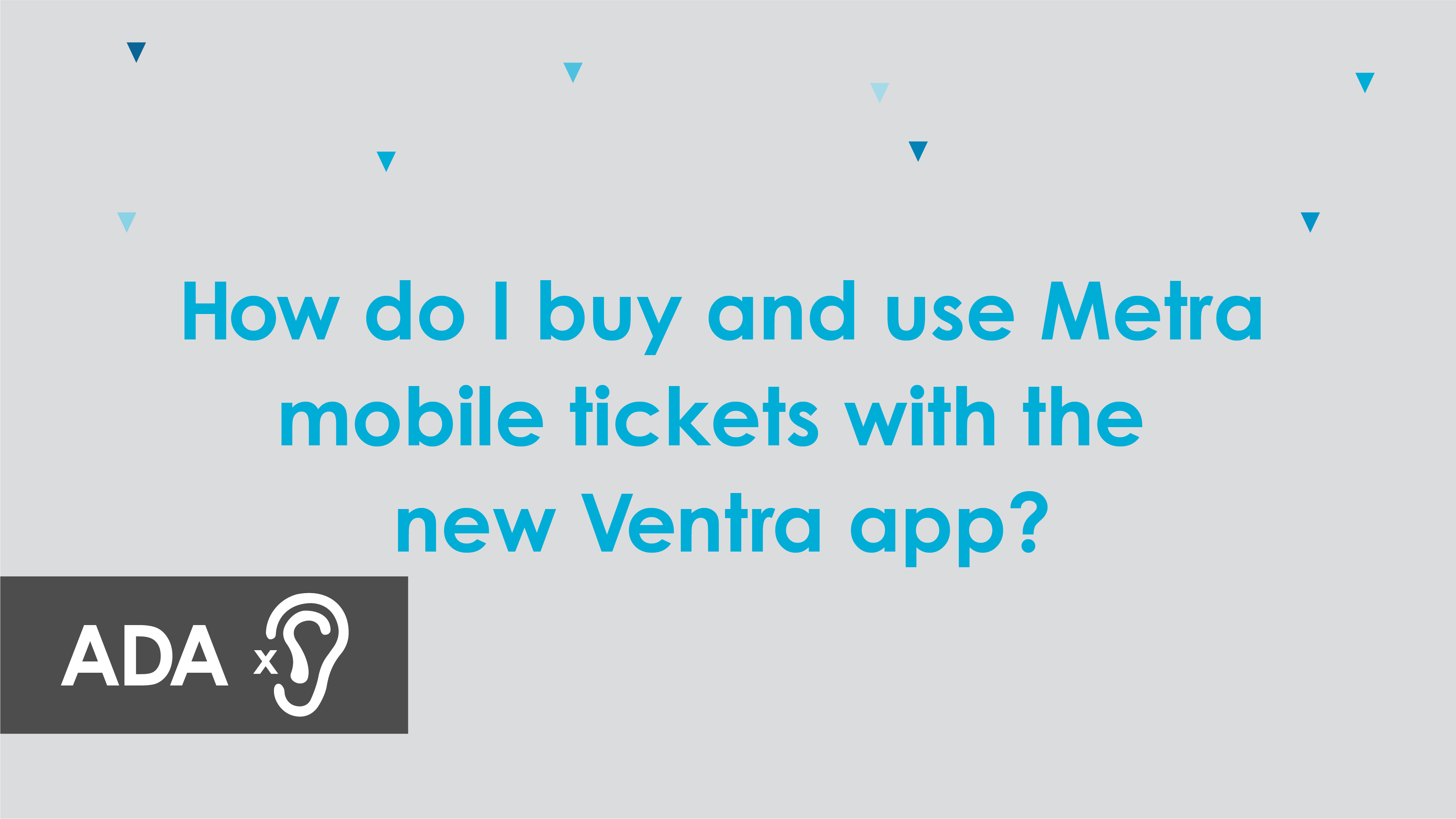 Ventra App CTA Video