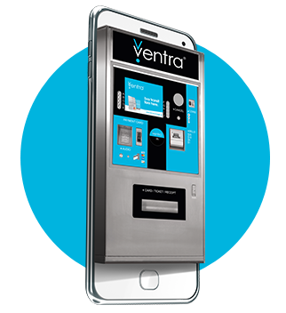 Get on board with the Ventra App.